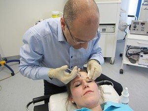 Botulinumtoxintherapie bei Blepharospasmus