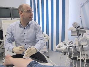 Ultraschall-unterstützte Botulinumtoxin-Therapie der unteren Extremität